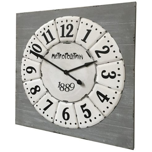 Horloge Industrielle Salon Bar Restaurant 96.50 cm x 96.50 cm